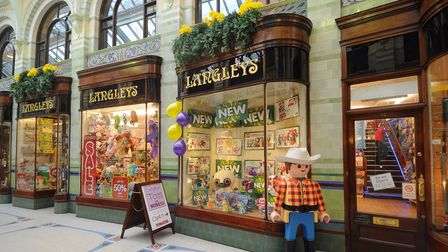 Langleys in the Royal Arcade. Pic: Archant