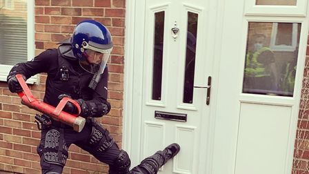 Police raided homes across Cambridgeshire as part of a County Lines operation.