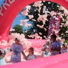The bubble rush event will take place at Huntingdon Racecourse in July.