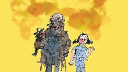 Mr Stink, written by David Walliams, illustrated by Quentin Blake.