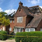 A couple were evacuated from their Hampstead Garden Suburb home due to a fire on Thursday morning