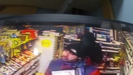 Suffolk Police would like to speak to this man in connection with a theft in Lowestoft