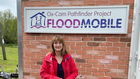 Renowned flood resilience expert and representative for Ox-Cam PFR Pathfinder Project Mary Dhonau OBE.