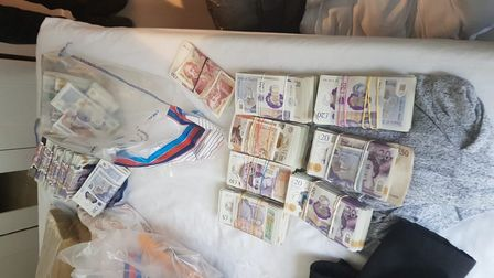 Over £400,000 of suspected criminal cash was seized by theOrganised Crime Partnership