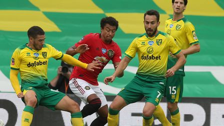 Lukas Rupp will hope for the chance to feature against Manchester United again in Norwich City's Premier League return