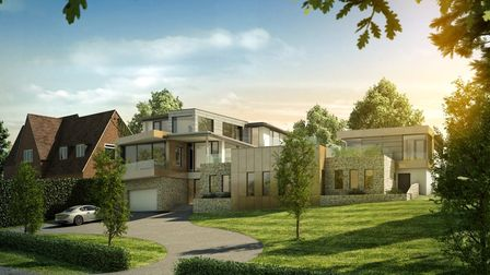 A modern, contemporary house build designed by coombes everitt architects in Cheltenham, England.