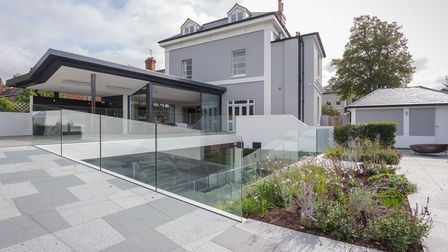 A regency villa extension designed by coombes everitt architects based in Cheltenham, England