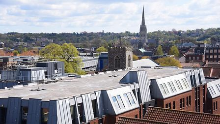 View from Vantage House in Norwich