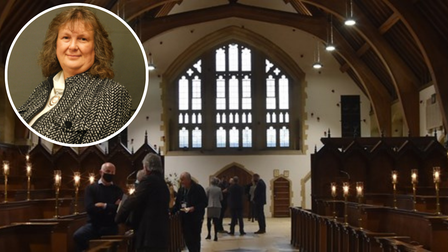 North Norfolk District Council's annual general meeting was held at the chapel at Gresham's School in Holt.