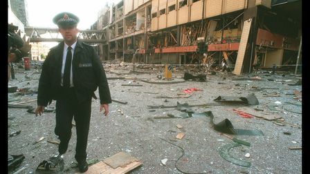 Terrorist Bombing In Manchester Blamed On IRA (Photo by Mathieu Polak/Sygma via Getty Images)