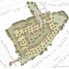 A map showing how the new development between Norton Road, Cashio Lane and Croft Lane in Letchworth