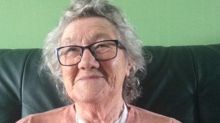 Mary Ewen was oneof the first to receive the Pfizer vaccination in Torbay