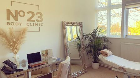 The No 23 Body Clinic for non-surgical treatments in Hatfield, Hertfordshire, England.