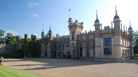 Front view of Knebworth House. Picture: Knebworth Estate