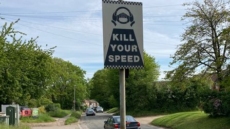 Motorists are urged to kill their speed on the St Albans Road.