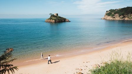 The beautiful beaches of Jersey