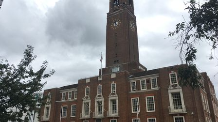 Barking town hall. Picture: Luke Acton.