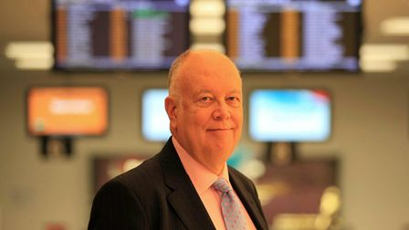Richard Gooding OBE, Chief Executive of London City Airport.