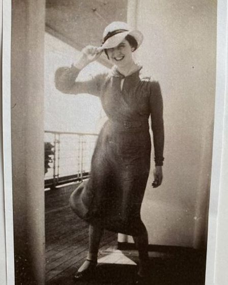 Margaret House Barley's Heather Beagley was on the maiden voyage of the RMS Queen Mary