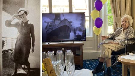 Heather Beagleyboarded the RMS Queen Maryon May 27, 1936 - she's now a resident at Barley.