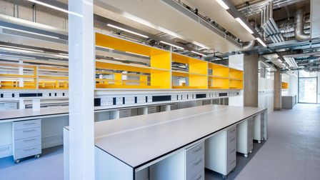 One of the new research laboratories at the Pears Building in Hampstead