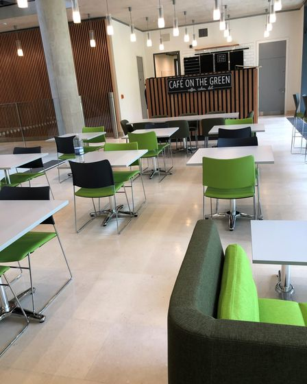 The new community cafe at the Pears Building