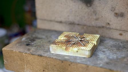 Jeweller Yiannis Assiouras' studio. Picture: Kate Wolstenholme