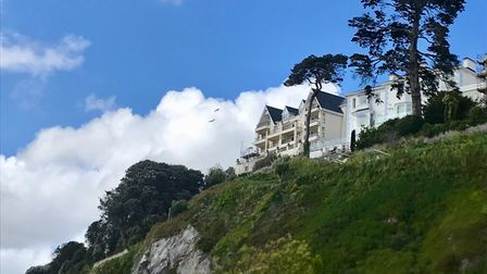 Accommodation looking across Torquay's seafront from Warren Road - a stunning view point