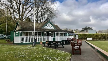Kings Bowling Club on the seafront
