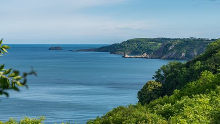Instead of a viewpoint such as Babbacombe, wecan now sit inside a cafe