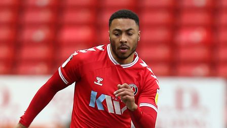 Charlton Athletic's Akin Famewo in action during the Sky Bet League One match at The Valley, London.