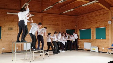 Huntingdon Youth Theatre has achieved national recognition.