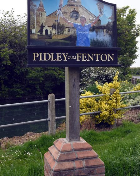 The village of Pidley has a thriving community.