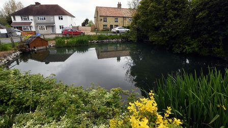 The village is the flattest in Cambridgeshire.