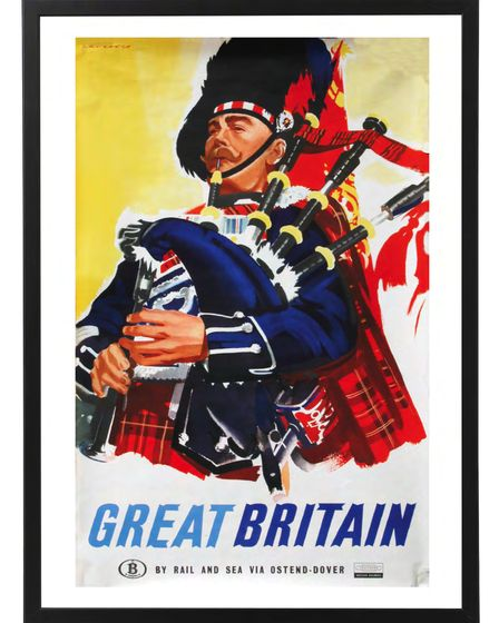 Visit Great Britain (Scotland) poster, by Laurence Fish