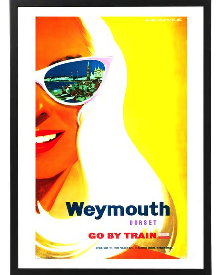 Weymouthposter, by Laurence Fish