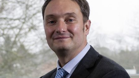 Jonathan Taylor, CEO of the Sapienta Education Trust which runs Sprowston Community Academy secondary school and sixth form.