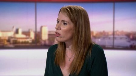 Angela Rayner, Labour's deputy leader, on The Andrew Marr Show. Photo: BBC One.