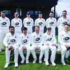 The victorious Herts Cricket League side in a team photo