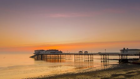 Timeless: Cromer pier at sunrise. (Photo by: Loop Images/Universal Images Group via Getty Images)
