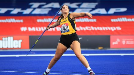 MANCHESTER, ENGLAND - SEPTEMBER 05: In this handout image provided by British Athletics Freya Jones