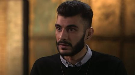 Shahmir Sanni during a Channel 4 interview. Sanni called on Scotland to seek independence 'as soon a