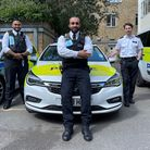 PCs thanked for quick action in saving man's life in Hackney.