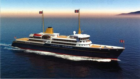 Handout image issued by 10 Downing Street showing an artist's impression of a new national flagship,