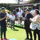 Clockhouse Bowling Club held an open weekend to attract new members