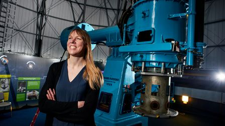 Professor Catherine Heymans, a former Hitchin Girls' School student,is the first female Astronomer Royal for Scotland