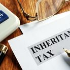 Smith & Pinching Inheritance tax application form and pen.