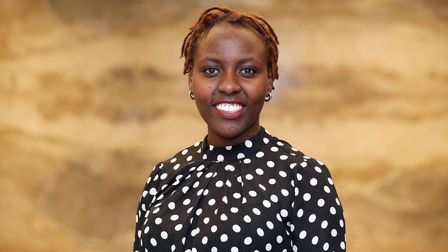 A picture of east London apprentice Agnes Thiong'o