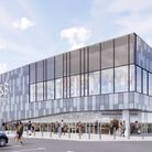 A concept image of the new Marks and Spencer Foodhall that could be coming to Stevenage, subject to