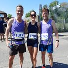 Jon Cooke, Claire Hall and Craig Dyce ran the Boston Marathon in Lincolnshire